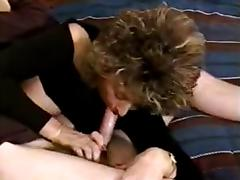 Hot Mature Amateur Cougar Smoking BJ