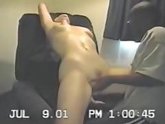 White Wife is BBC Cuckold Villein in Sexy Hotel Room Porn Movie Scene