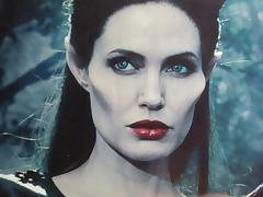 Angelina Jolie Maleficent Cum Tribute MMBK