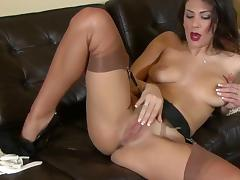 Nylon, Masturbation, Nylon, Stockings, Leggings