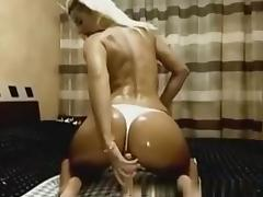 Fingering my butthole on webcam