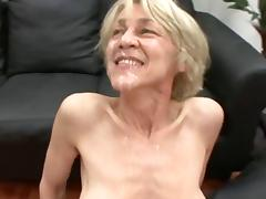 Mom and Boy, German, Granny, Mature, Old, Saggy Tits