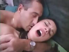 Brunette Anal Orgasm