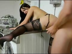 Hot German Amateur in black Stockings DKD