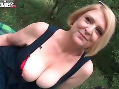 Housewife, Amateur, Big Tits, Blonde, Blowjob, Boobs