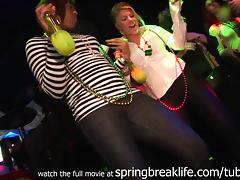 SpringBreakLife Video: Club Flashing