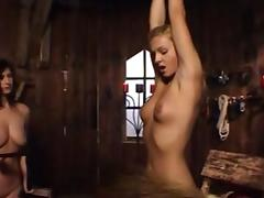 torture of a blond slave