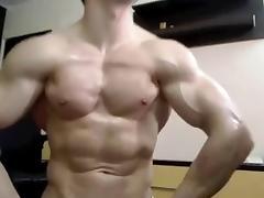 Amateur muscle webcam