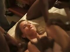Wife banged by blacks