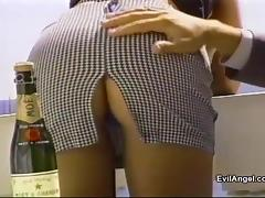 Sexy Booty Chick Gets Nailed Anal Doggystyle In Miniskirt