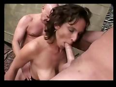Busty Milf Needs Two Cocks BVR