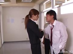 Naughty Asian milf iRora Misaki n hpt group fucking session