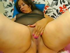 Webcam - 24 Colombian BBW teasing