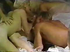 VIntage 80's bisexual orgy