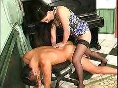 Brunette Russian Strapon Lady 5