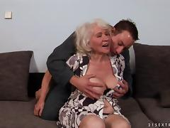 Grandmother, Doggystyle, Granny, Hairy, Mature, Old