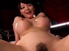 Japanese Granny, Asian, Big Cock, Big Tits, Blowjob, Boobs
