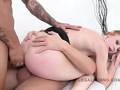 Linda Sweet Triple Anal Penetration