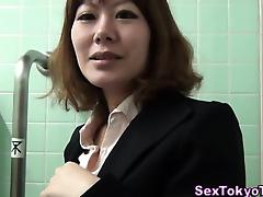 Asian hottie pov clit rub