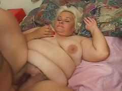 Hairy pussy big boobs blonde granny fucked by santa claus