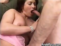 Mature Arabic Woman With A Bush Pounding