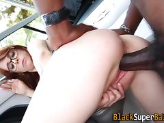 Slut fucking black rocket