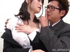 Horny teacher likes fucking students and coming on their faces