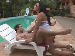 TransPantyhose Video: Lorena and Bruna