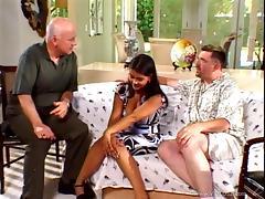 Latina brunette wife Alyiah rides tasty cock in nasty cuckold scene