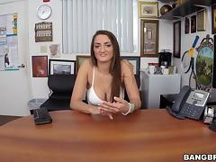 Audition, Audition, Big Tits, Boobs, Brunette, Casting