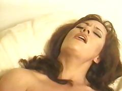 Nipples becoming erect during orgasm