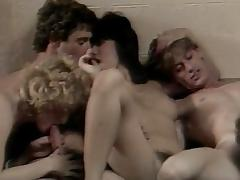 Mei Ling, Crystal Lake, Theresa Jones in vintage fuck site