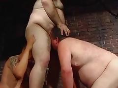 Big Chubby-bears sucking