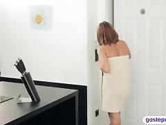 Mother in Law, Adorable, Big Cock, Blowjob, Couple, Fucking