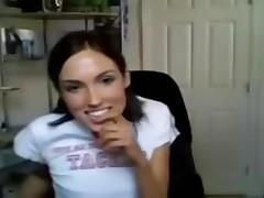 immature shows ass for nice stickam vid