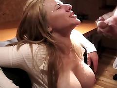 Big boob facial