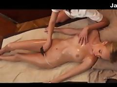 Japanese And White Girl Lesbian Massage