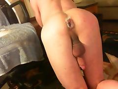 HOT! pounding Big black dick Doggy style! HUGE MESSY GAPE