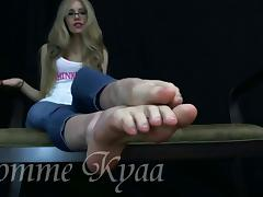 Dome feet tease 2