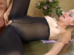 PantyhoseJobs Movie: Judith and Clifford A