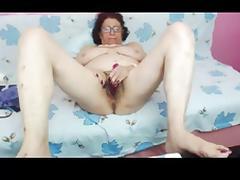 Grandmother, Amateur, Granny, Hairy, Masturbation, Mature