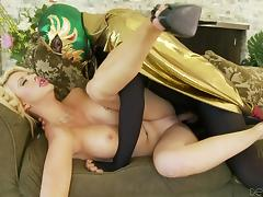 it's luchador time! @ courtney taylor unleashed