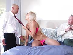 she needs it from both ends @ dp my wife with me #06