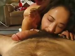 Cock sucker and rimjob giver on POV cam
