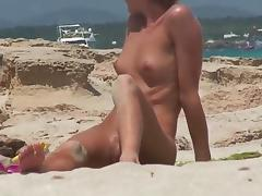 Nude Beach - Sweet Little Tit Redhead
