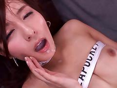 Angry, Angry, Asian, Close Up, Couple, Cum in Mouth