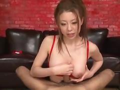 Big boob Japanese HJ