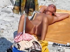 Beach Sex, Beach, Blowjob, Public, Voyeur, Beach Sex
