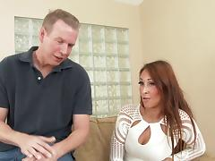 Cute hooker sucking cock before getting her tight cunt and bung hole pounded