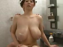 Sakuragi Mio-Rich Overflowing Breast Milk Scene4